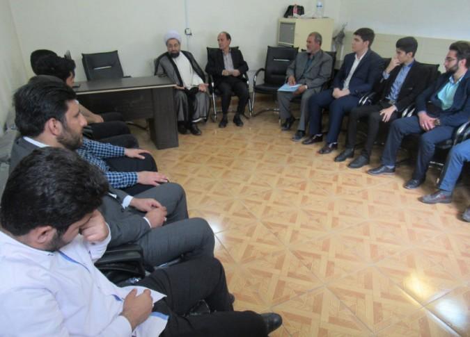 جلسه معاونت امنیت ستاد نماز جمعه شهریار با حضور امام جمعه محترم