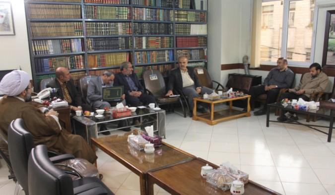 جلسه هیئت امناء مسجد جامع شهریار با امام جمعه محترم