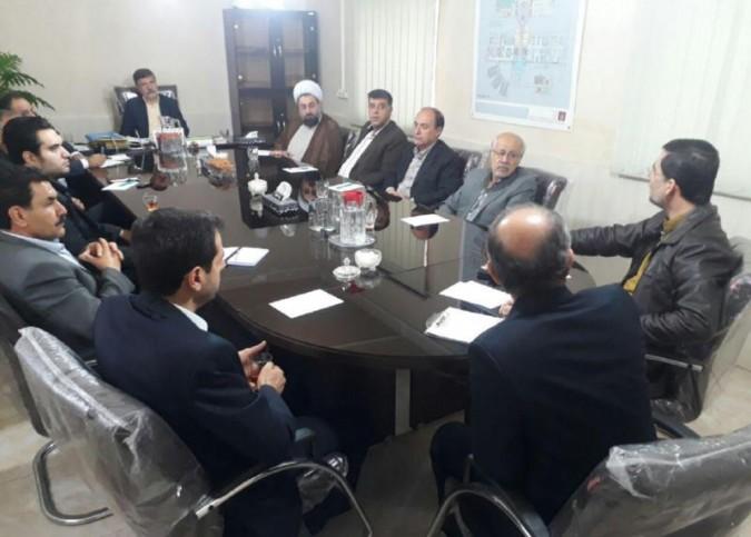 جلسه هیئت امناء بیمارستان امام خمینی(ره)شهریار