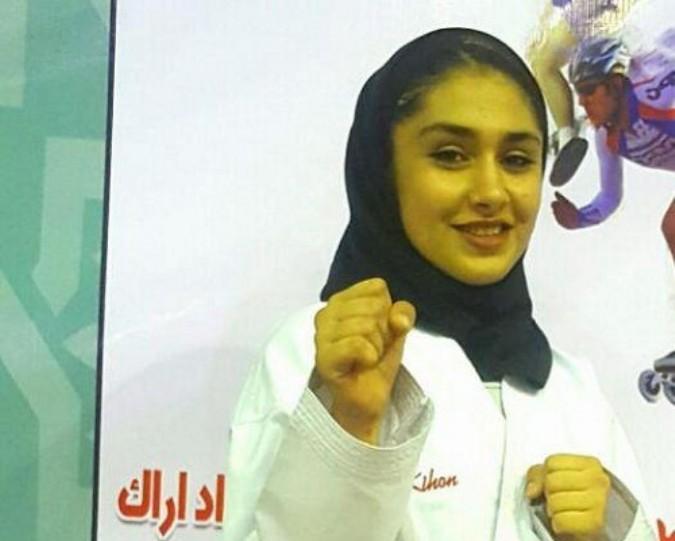 راه یابی دانش آموز شهریاری به تیم ملی کاراته جوانان کشور