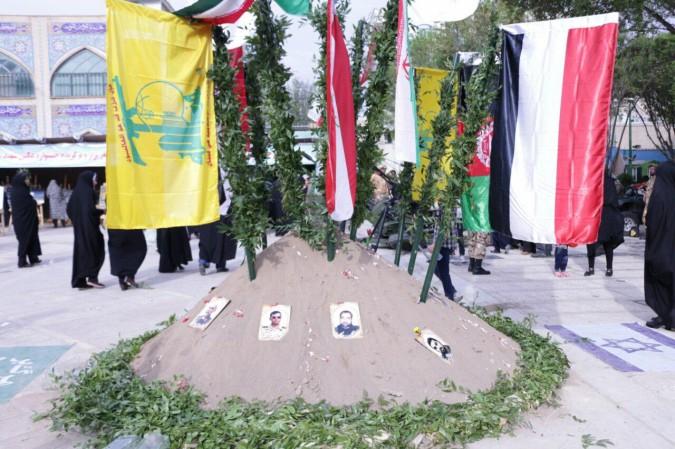 اولین سالگرد شهادت شهید مدافع حرم مجتبی یداللهی منفرد در امامزاده اسماعیل (ع) شهریار