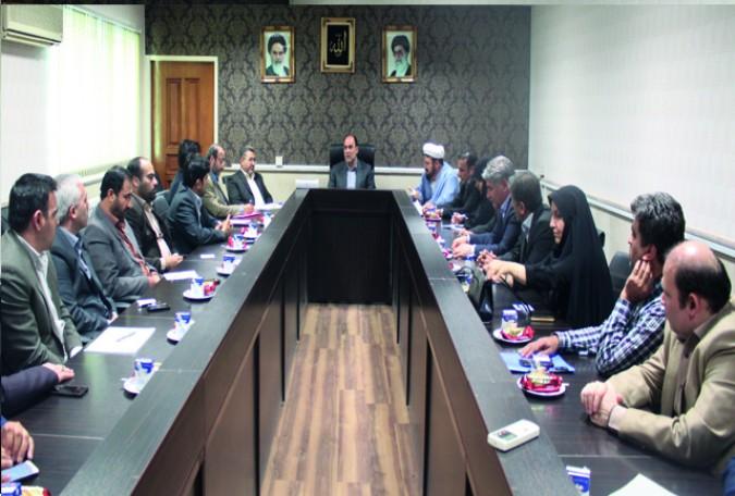 برگزاری جلسه ستاد بزرگداشت سالگرد ارتحال حضرت امام خمینی(ره) و سالروز آزاد سازی خرمشهر