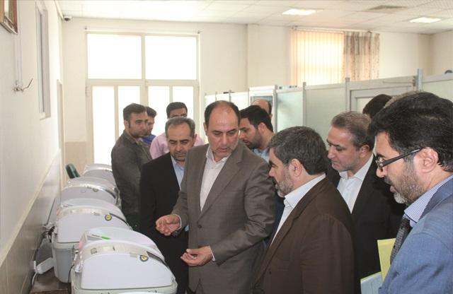 بازدید مدیرکل انتخابات استانداری تهران از ستاد انتخابات شهرستان قدس