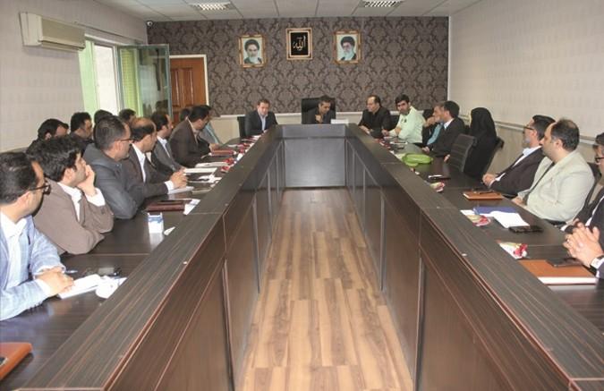 جلسه مدیریت بحران در سالن اجتماعات فرمانداری شهرستان قدس برگزار شد