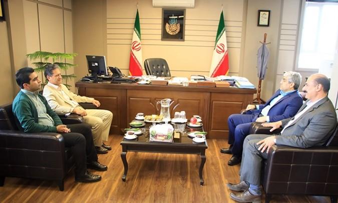 نشست مشترک فرماندار شهرستان شهریار با رئیس دانشگاه پیام نور استان تهران
