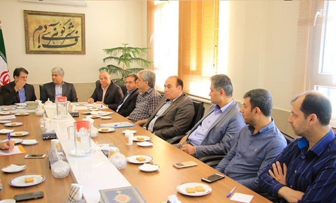 جلسه هماهنگی کمیته های ستاد انتخابات شهرستان شهریار