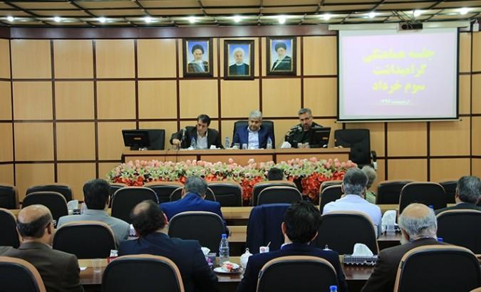 جلسه هماهنگی مراسم گرامیداشت سوم خرداد برگزار شد