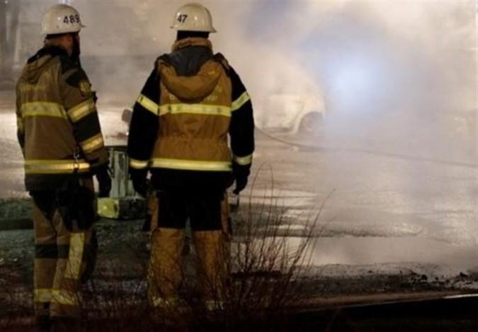 فوت آتشنشان فداکار در حریق یک مجتمع مسکونی در فردوسیه شهریار
