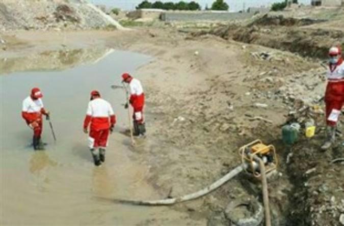 پیکر بیجان کودک غرق شده در کانال آب شهریار پیدا شد