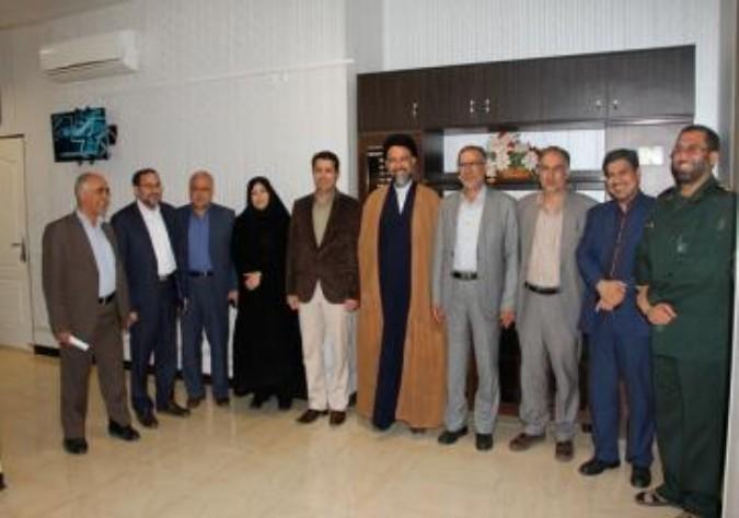 دیدار مسئولان شهرستان ملارد با فرمانده ناحیه مقاومت بسیج ملارد