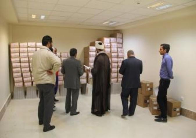 تحویل بیش از550 هزار تعرفه اخذ رای به شهرستان ملارد