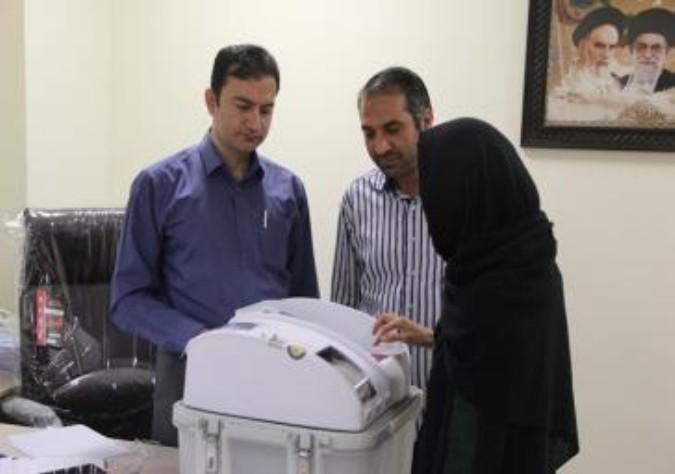رأی گیری الکترونیکی آزمایشی انتخابات شورا در چندین نقطه در شهر ملارد