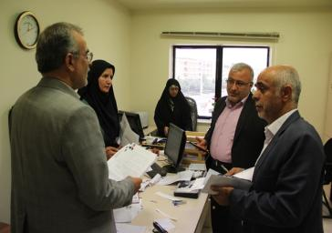 سرکشی خطیبی فرماندار و رئیس هیئت اجرایی انتخابات از ستاد انتخابات