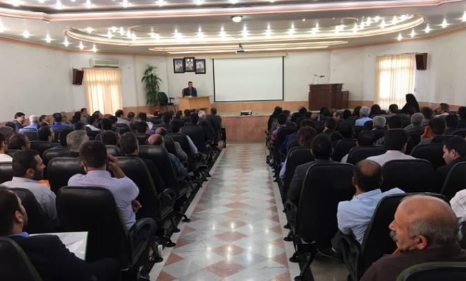 نشست آموزشی فرآیند تبلیغات انتخابات و جرائم انتخاباتی در فرمانداری شهریار برگزار شد