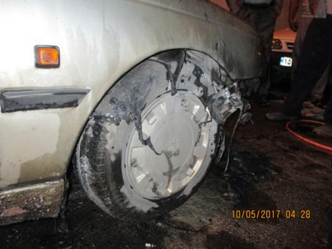 یکدستگاه خودرو پژو 405 در شهریار طعمه حریق شد