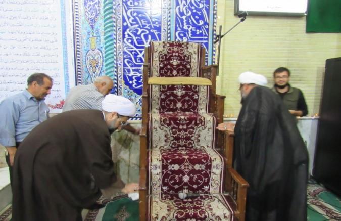 برگزاری مراسم گرامیداشت هفته مساجد در شهرستان شهریار