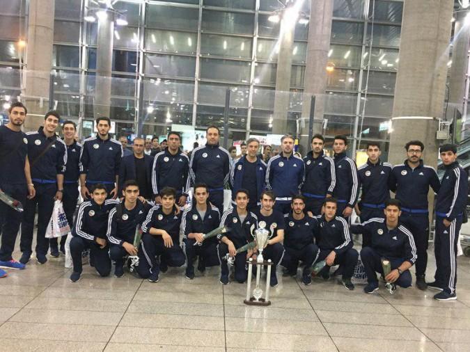 قهرمانی تیم ملی تکواندو در مسابقات جام ریاست فدراسیون جهانی