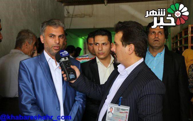 حضور خبرنگاران خبر شهر در بیش از 100 شعبه اخذ رای