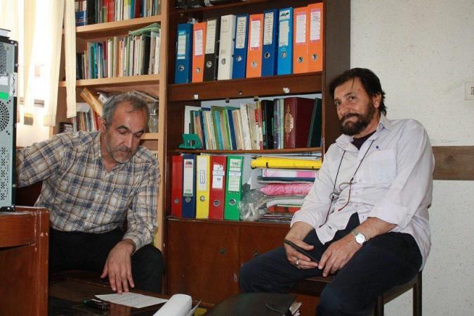 مصاحبه با استاد قوام الدین قاسمی مسئول انجمن هنرهای آئینی