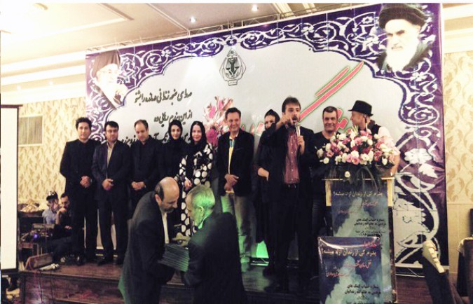 برگزاری مراسم گلریزان آزادی زندانیان شهرستان قدس