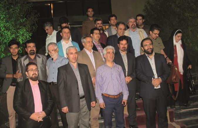 تجلیل از خبرنگاران سه شهرستان قدس ، شهریار و ملارد در تالار تندیس شهر قدس