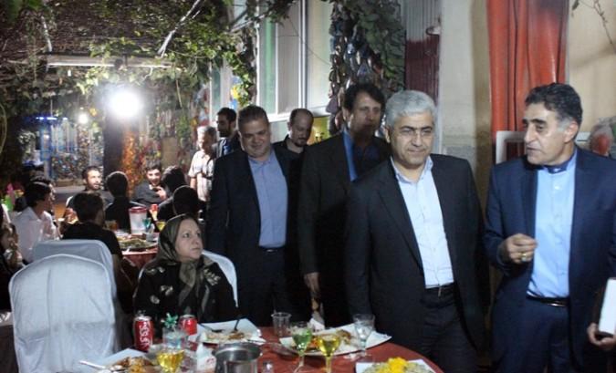 مراسم ضیافت افطار در آسایشگاه سالمندان شریف (2)