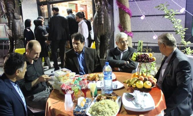 مراسم ضیافت افطار در آسایشگاه سالمندان شریف (4)