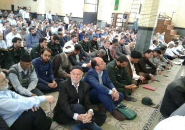 مراسم بزرگداشت 28 سالگرد ارتحال امام خمینی(ره) در ملارد برگزار شد
