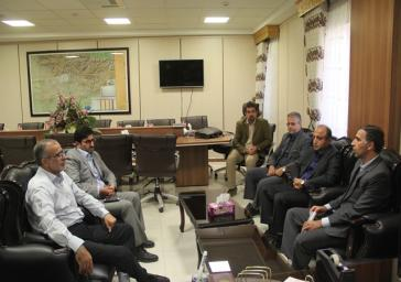 نشست فرماندار ملارد با مدیرعامل آبفای شهرها و شهرکهای غرب استان تهران
