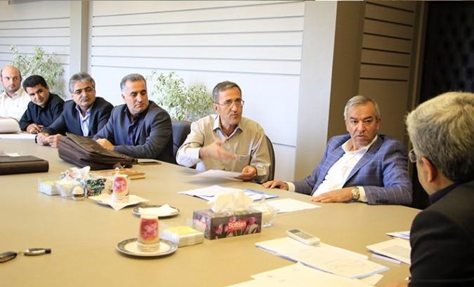 جلسه هماهنگی ادامه عملیات اجرایی پل رو گذر وحیدیه و فردوسیه