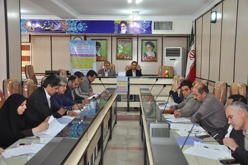 اولین جلسه ستاد نظارت بر ثبت نام دانش آموزان شهرستان شهریار