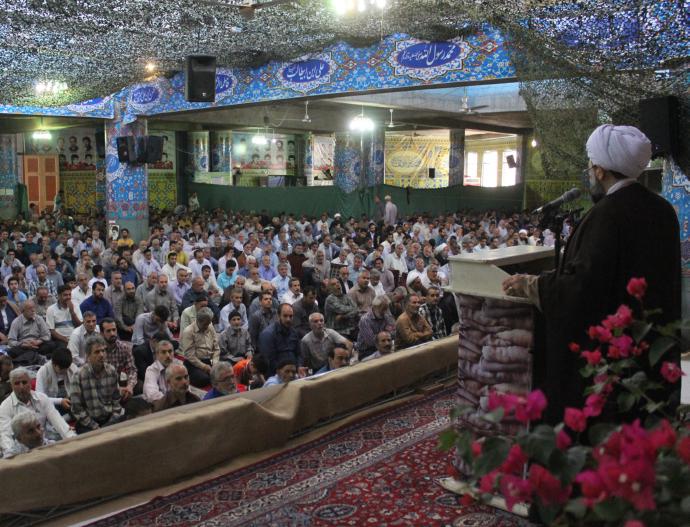 خطبه های نماز جمعه 2 تیر1396