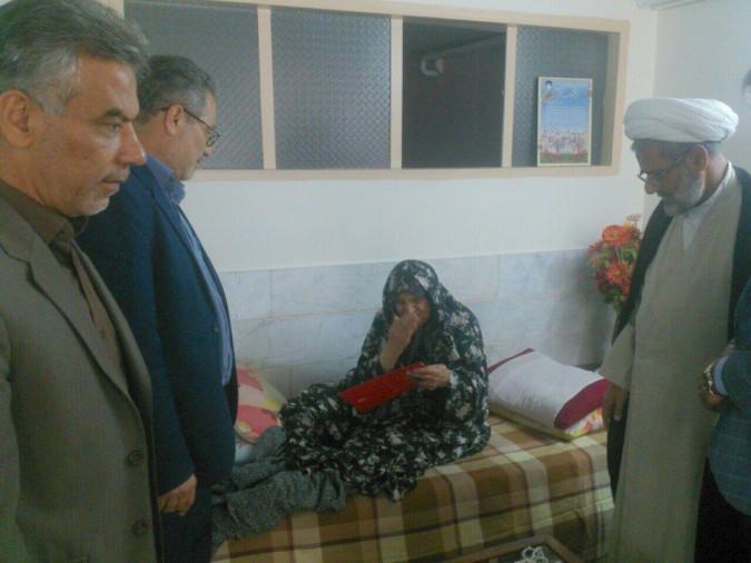 دیدار از خانوادهای شاهد صباشهر توسط مهندس امینی معاون فرماندار شهریار