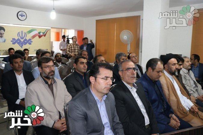 گزارش تصویری از افتتاحیه رسمی خبرگزاری صدا و سیمای شهرستان ملارد