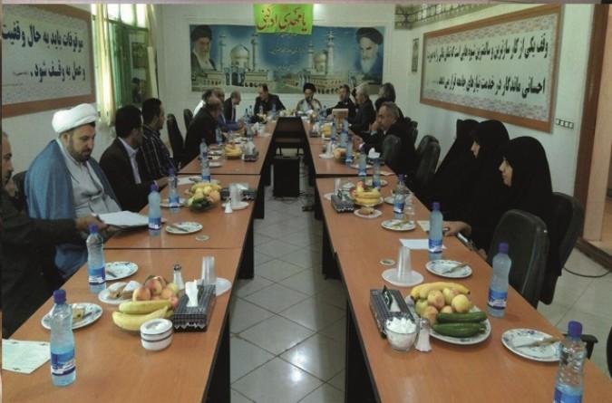 برگزاری جلسه شورای فرهنگ عمومی شهرستان قدس