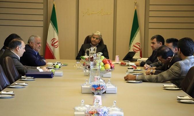 نشست مشترک با اعضای کمیسیون ماده 100 شهرداری شهریار