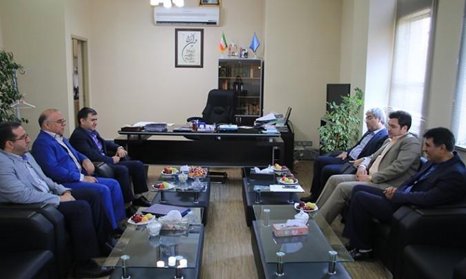 دیدار دکتر ناجی با رئیس دادگستری و دادستان عمومی و انقلاب شهرستان شهریار