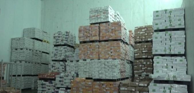 کشف 235 تن مرغ دولتی در ملارد