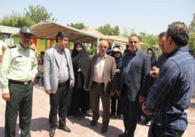 بازدید اعضای شورای فرعی هماهنگی مبارزه با مواد مخدر شهرستان ملارد از کمپ ترک اعتیاد