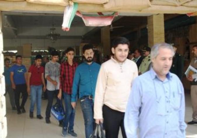 اعزام گروه های جهادی بسیج شهرستان ملارد برای خدمت به مردم محروم اخترآباد