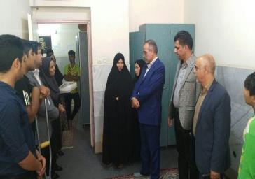 بازدید فرماندار ملارد از مراکز به مناسبت هفته بهزیستی در شهرستان ملارد