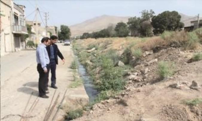 بازدید از وضعیت فاضلاب محله سرخه حصار شهرقدس