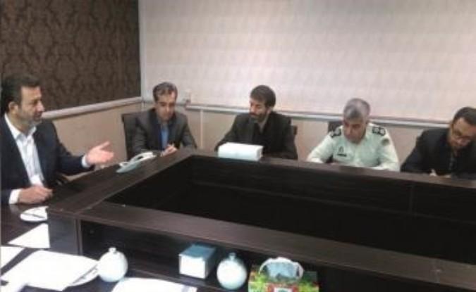 تجلیل فرماندار شهرستان قدس از اقدامات پیشگیرانه بخشدار مرکزی در خصوص ساخت و ساز غیر مجاز