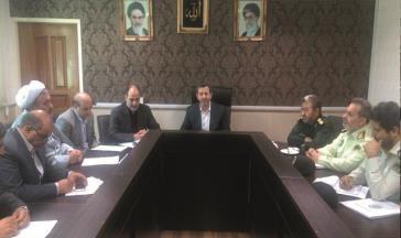 برگزاری جلسه شورای هماهنگی مبارزه با مواد مخدر شهرستان قدس