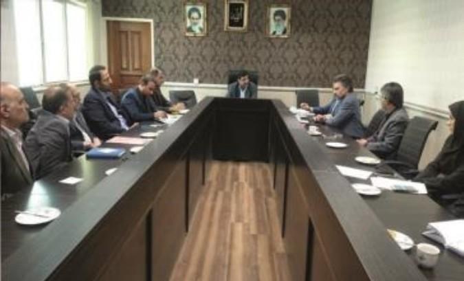 برگزاری جلسه شورای بانکها در فرمانداری قدس
