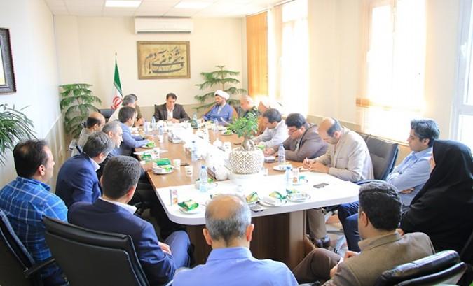 جلسه ترویج فرهنگ عفاف و حجاب شهرستان شهریار به مناسبت سالروز واقعه مسجد گوهر شاد