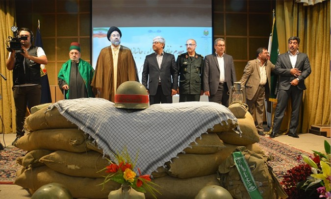 مراسم گرامیداشت عملیات مرصاد در شهر اندیشه برگزار شد