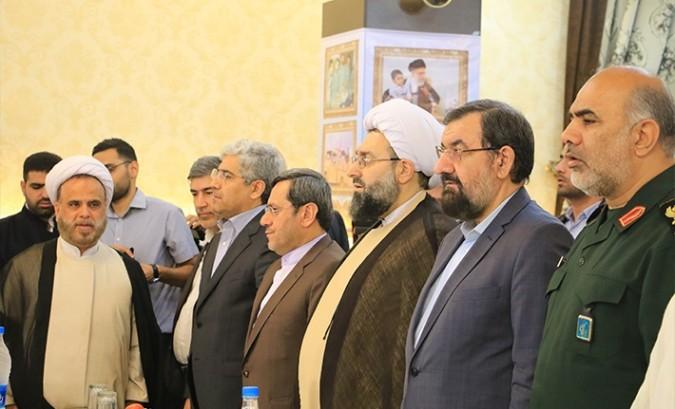 مراسم سالگرد عملیات مرصاد در شهرستان شهریار با سخنرانی دکتر محسن رضایی
