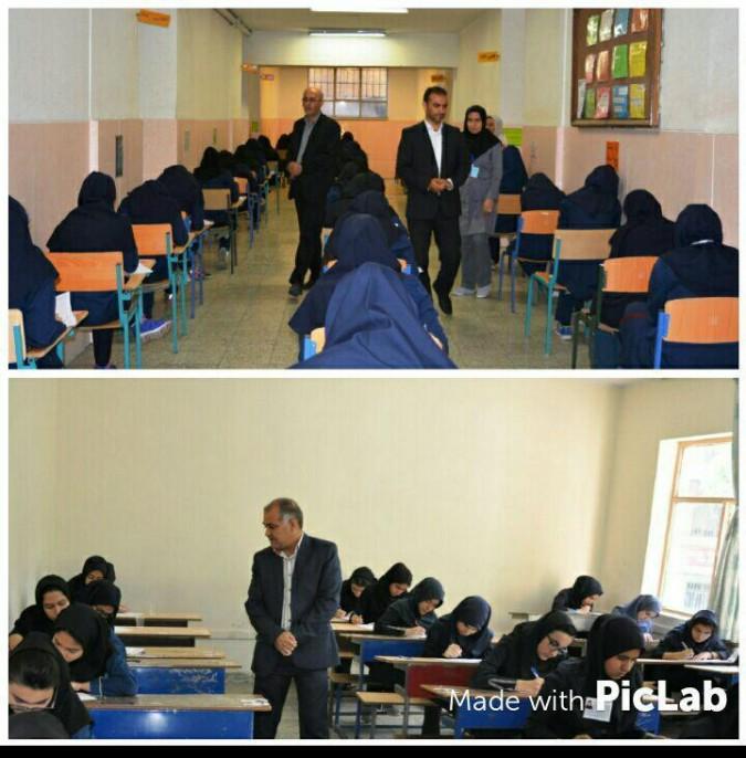 آزمون ورودی مدارس نمونه دولتی در شهریار برگزار شد