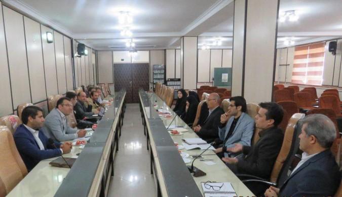اولین جلسه کارگروه ساماندهی نیروی انسانی پروژه مهر شهریار